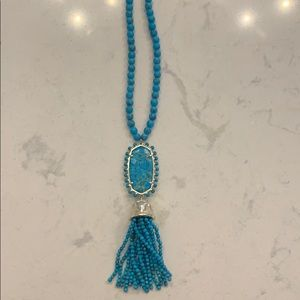 Kendra Scott Beaded Tassel Necklace